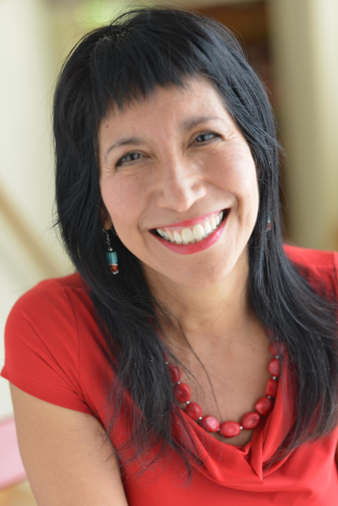 """""""I grew up in a family of traditional healers and it has been part of my life – since I was in my mother's womb,"""" says Patrisia Gonzales, author of """"Traditional Indian Medicine: American Indian Wellness,"""" released this year."""