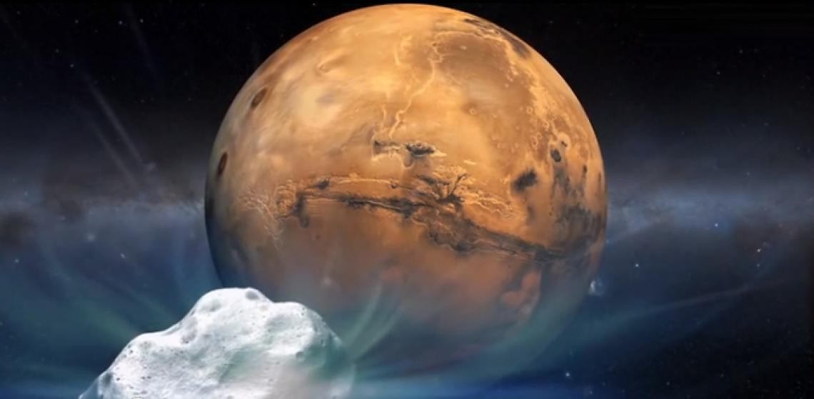 Siding Spring will approach Mars closer than any comet of its type has passed Earth in recorded history.