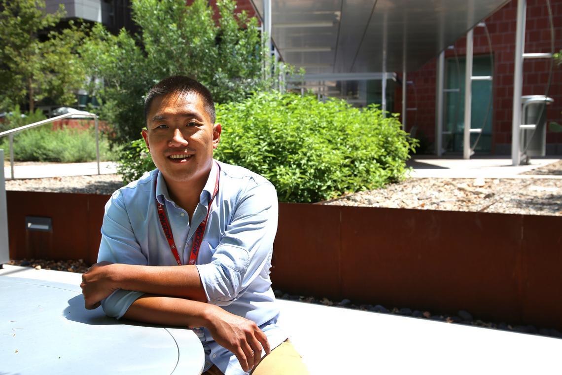 Associate professor of neurology Rui Chang.