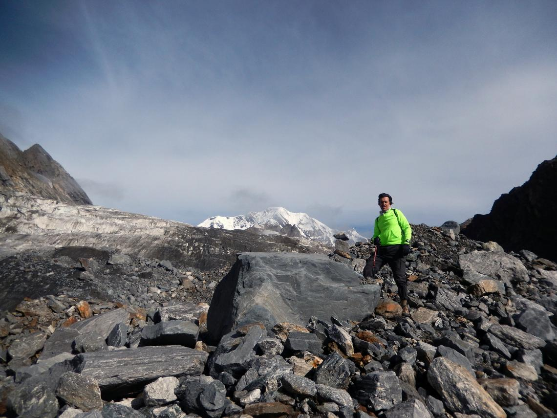 Chris Scott's visits to the Himalaya region now focus on both science and policy.