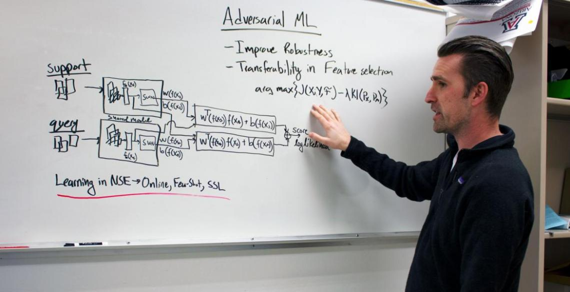 Electrical and computer engineering professor Gregory Ditzler is a 2020 NSF CAREER Award recipient.
