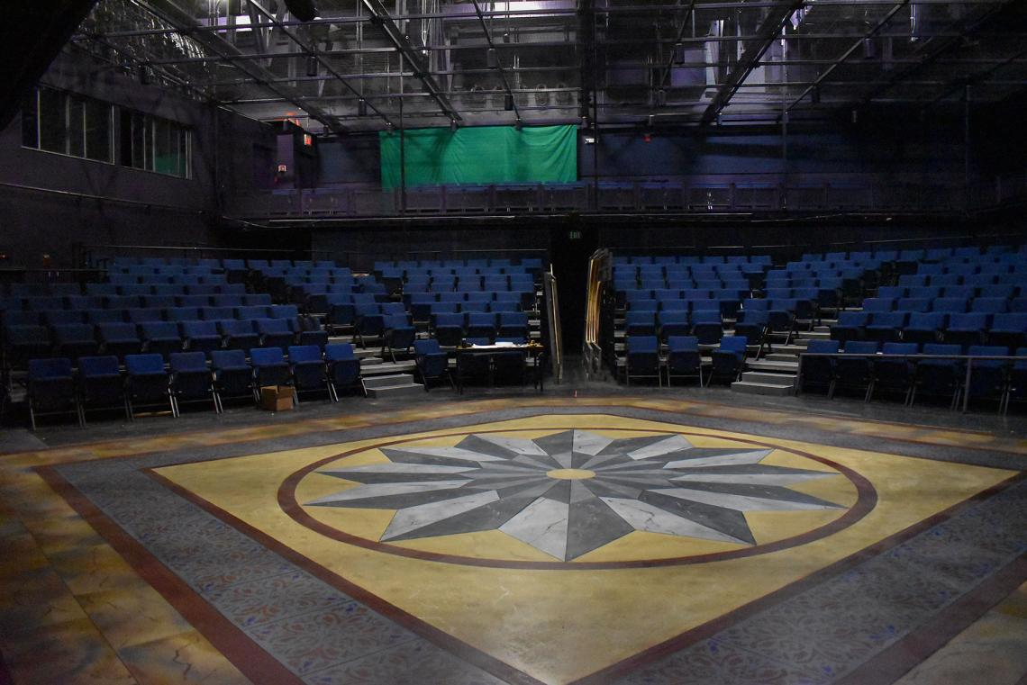 """The Arizona Repertory Theatre canceled its production of """"The Light in the Piazza"""" before the set could be completed."""