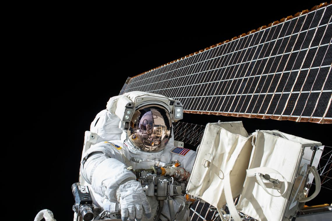 Astronauts at the International Space Station participated in a study to determine long-term spaceflight's effect on the immune system.