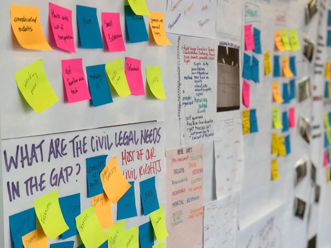 Innovation for Justice program students use design and systems thinking to create new models of legal empowerment.