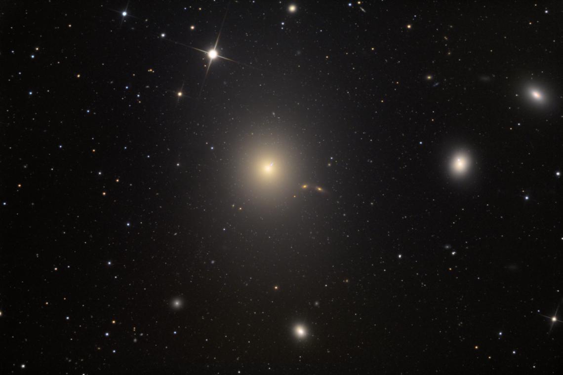 Adam Block's photo of the Messier 87 galaxy.