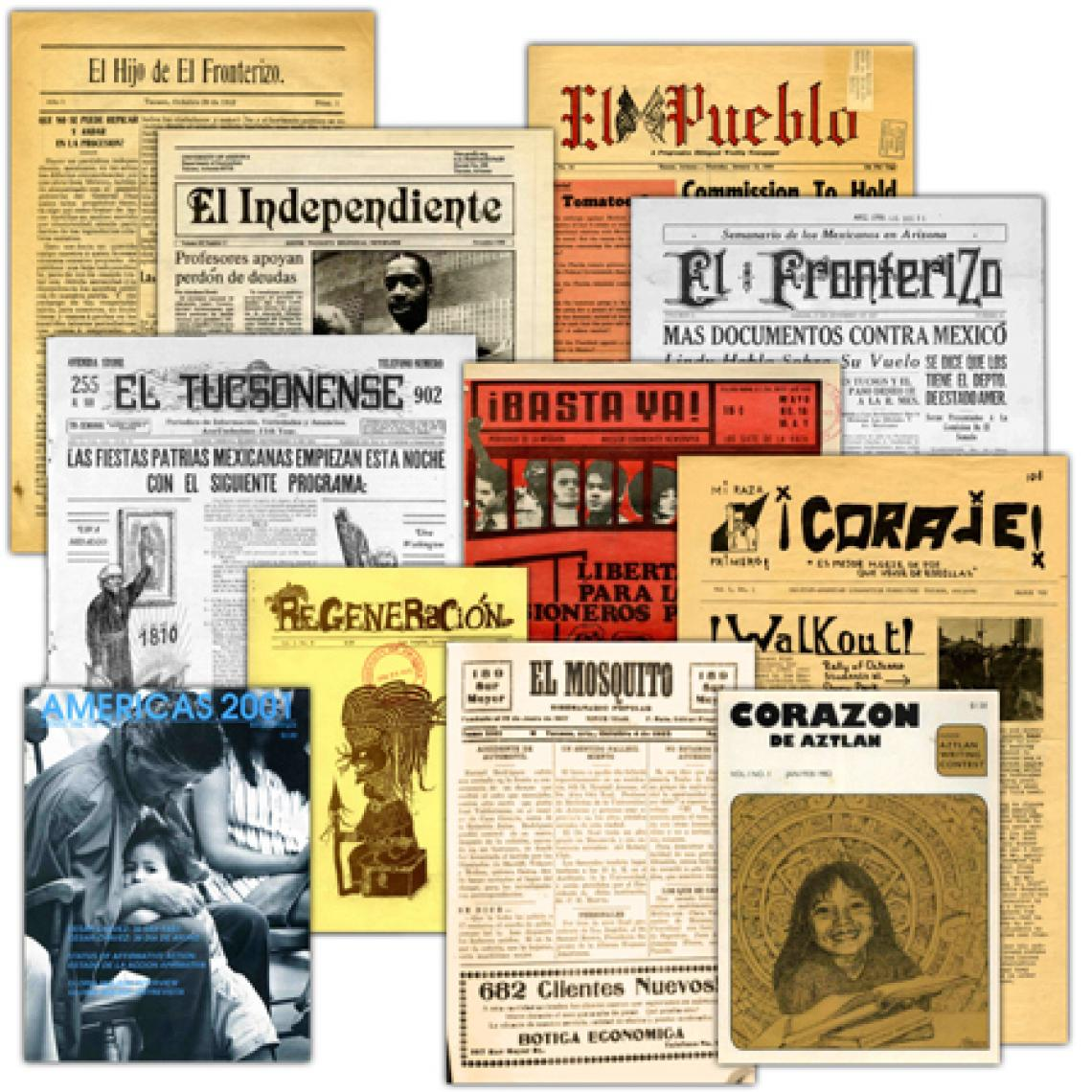 """UA librarian Chris Kollen said that because the newly digitized collection includes eight newspapers published in Tucson from 1882 to the 1970s, people will be able to get """"a clearer picture of the Mexican American community in Tucson."""""""
