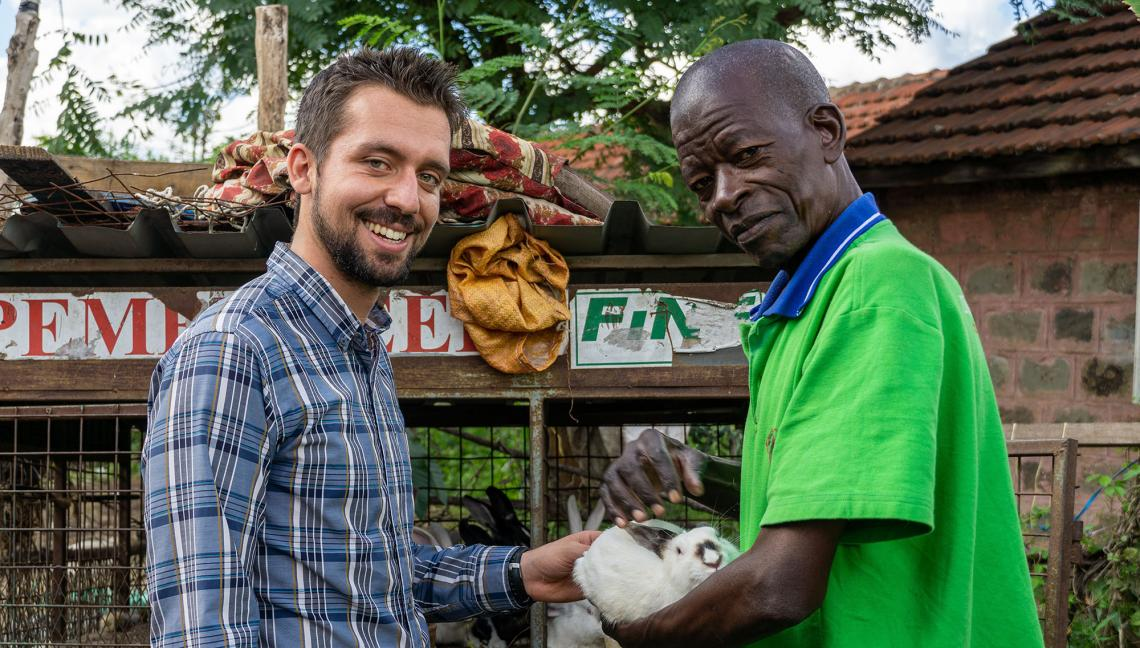 Jake Meyers  produced a digital story with Francis Wachira  who believes urban farming is the key to feeding the future and tackling climate change.