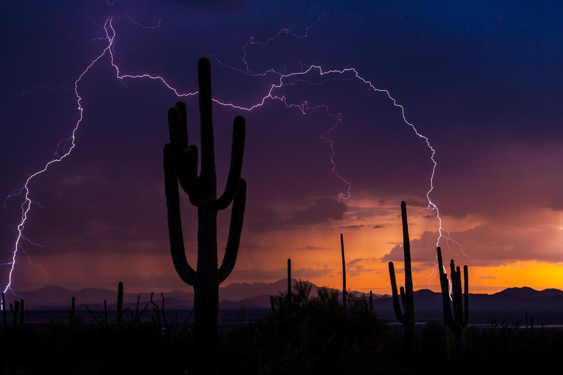 Monsoon storms are definitely on their way to Southern Arizona, though predictions of when they will start vary.