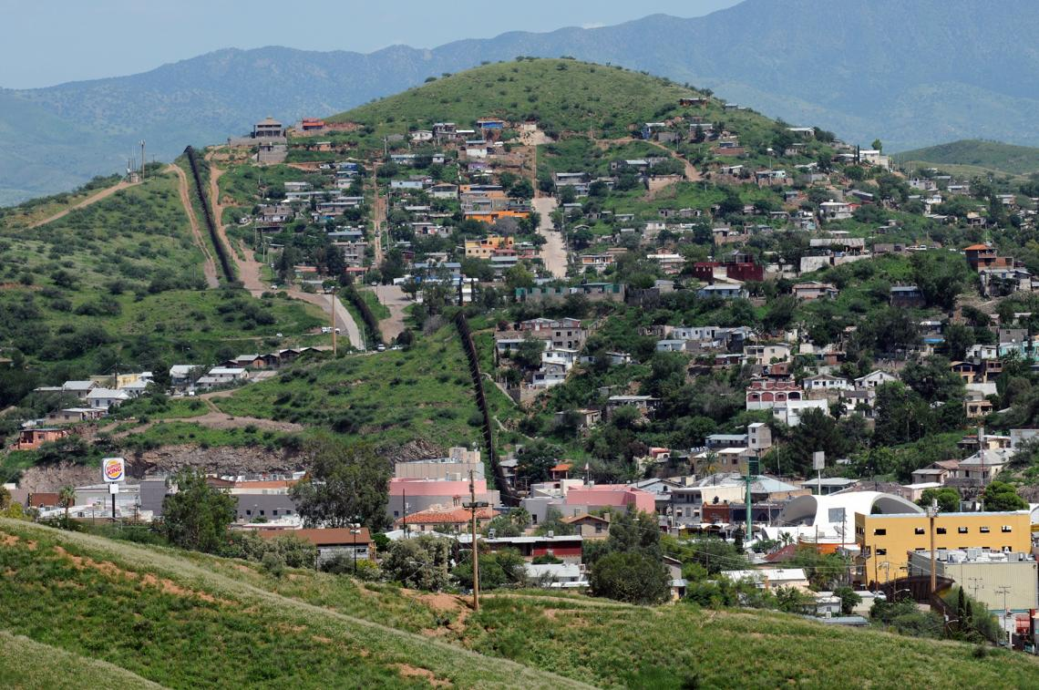 """Nogales, Arizona, and Nogales, Sonora, are representative of the U.S.-Mexico border areas that will be the focus of the newly established """"Fronteridades: Nurturing Collaborative Intersections in the U.S.-Mexico Borderlands"""" program."""