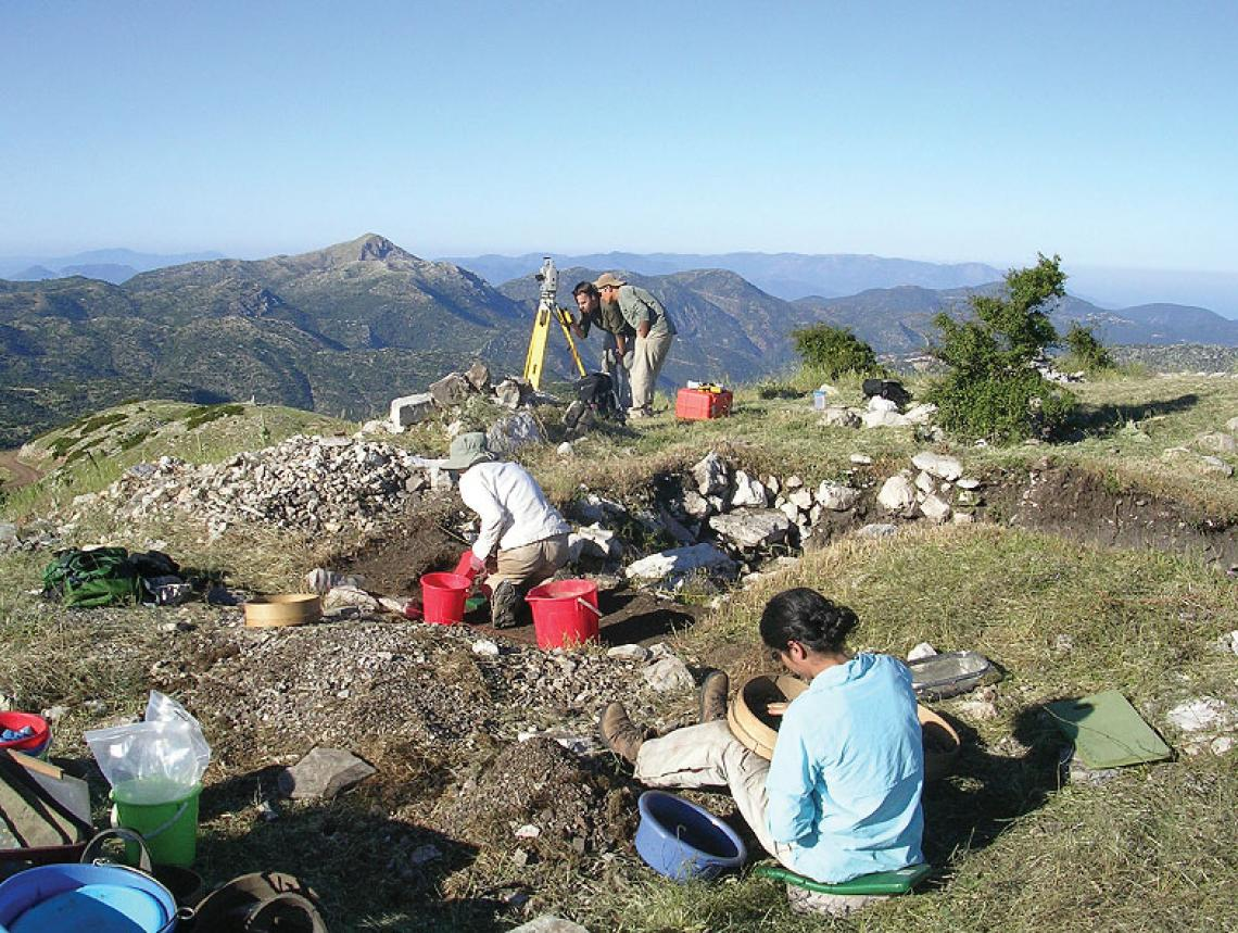 The project provides a rich training ground for aspiring archaeologists. During excavation years, more than 35 students work at the site. The researchers are exploring the relationship between Mt. Lykaion and the more famous sanctuary of Zeus at Olympia,