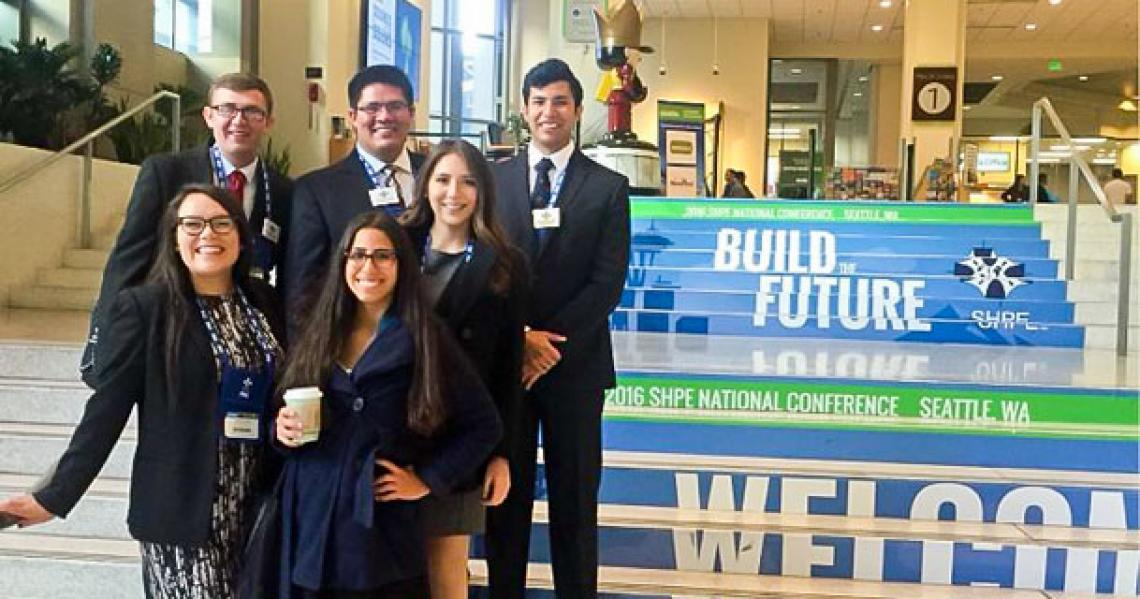 The UA chapter of the Society of Hispanic Professional Engineers has been recognized nationally.