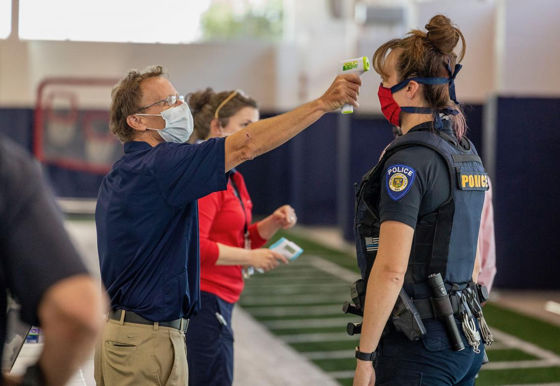 Antibody testing offered by the University of Arizona in partnership with the state kicked off on April 30 in Pima County and will now expand statewide. The effort includes testing 250,000 health care workers and first responders across Arizona.