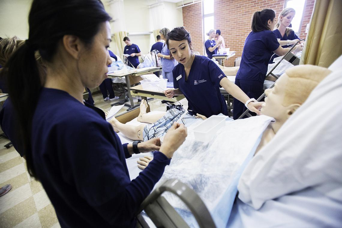 The largest portion of the gift, $1 million, will be used by the College of Nursing to enhance simulation facilities at the Tucson, Phoenix and Gilbert campuses.