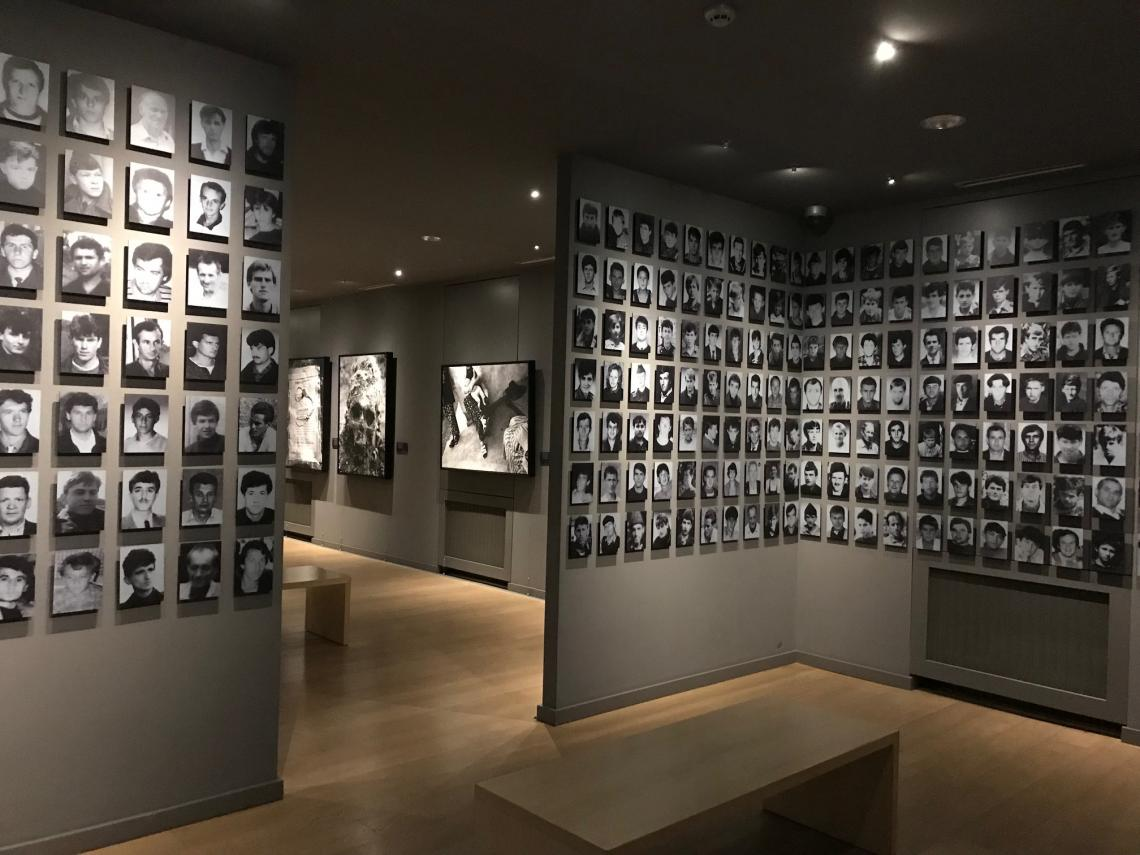 Gallery 11/07/95 is the first memorial gallery in Bosnia and Herzegovina, an exhibition space with documentary and artistic interpretations aiming to preserve the memory of the Srebrenica tragedy and the 8,372 people who perished in the massacres.