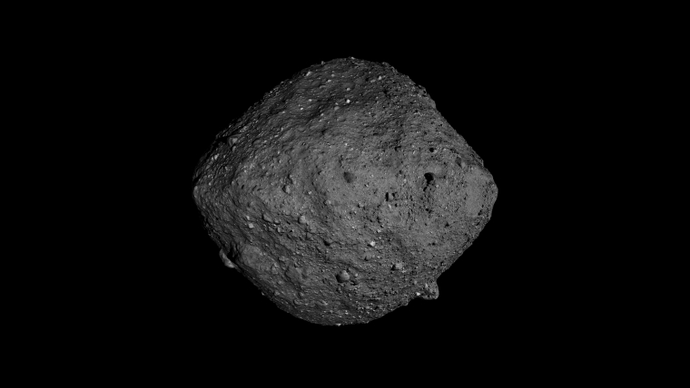 Asteroid Bennu in full view