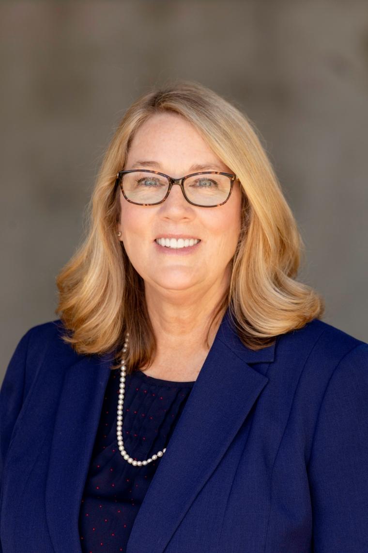 headshot image of Pam Scott