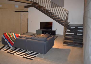 rowhouse living room