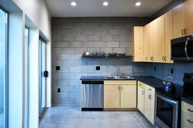 the rowhouse kitchen