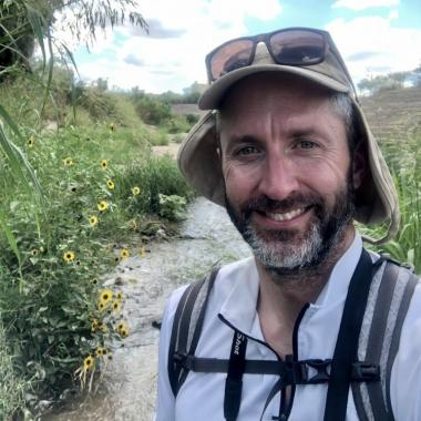 Michael Bogan's research focuses on how drought and water use shape stream habitats and their biodiversity in the arid Southwest.