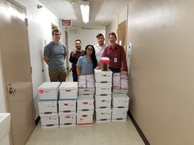 The university's Health Sciences Biorepository has secured the materials to produce 7,000 coronavirus specimen collection kits this week.