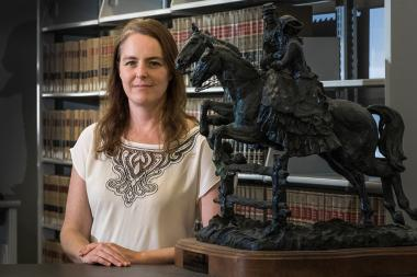 Jane Bambauer teaches about privacy and free speech, among other topics, in the James E. Rogers College of Law.